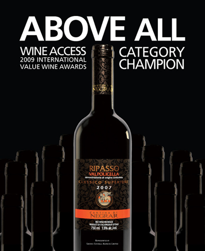 Cantina di Negrar Ripasso wine advertising
