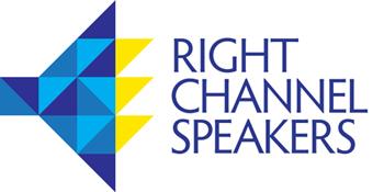 Right Channel Speakers logo design