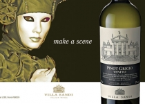 Villa Sandi wine advertising