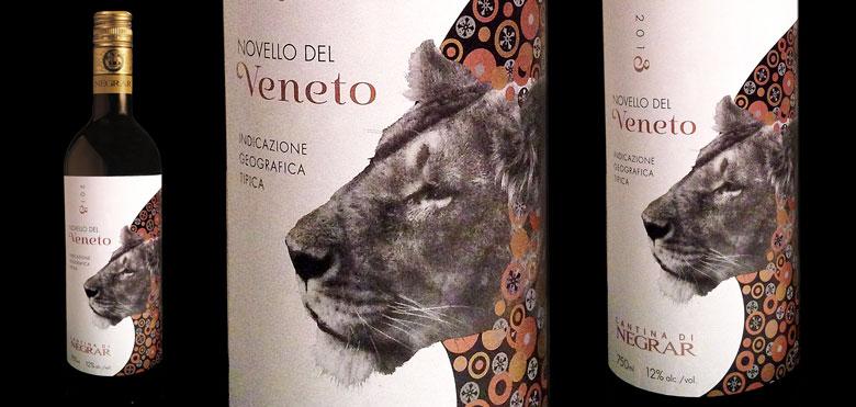 Novello del Veneto 2013 bottles