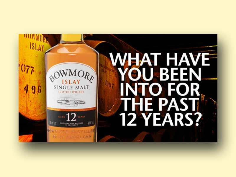 Bowmore Scotch Ad