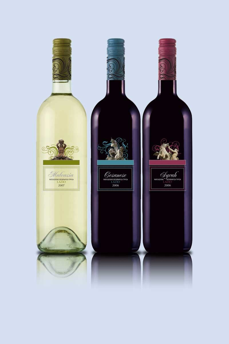 Lazio Wine Packaging