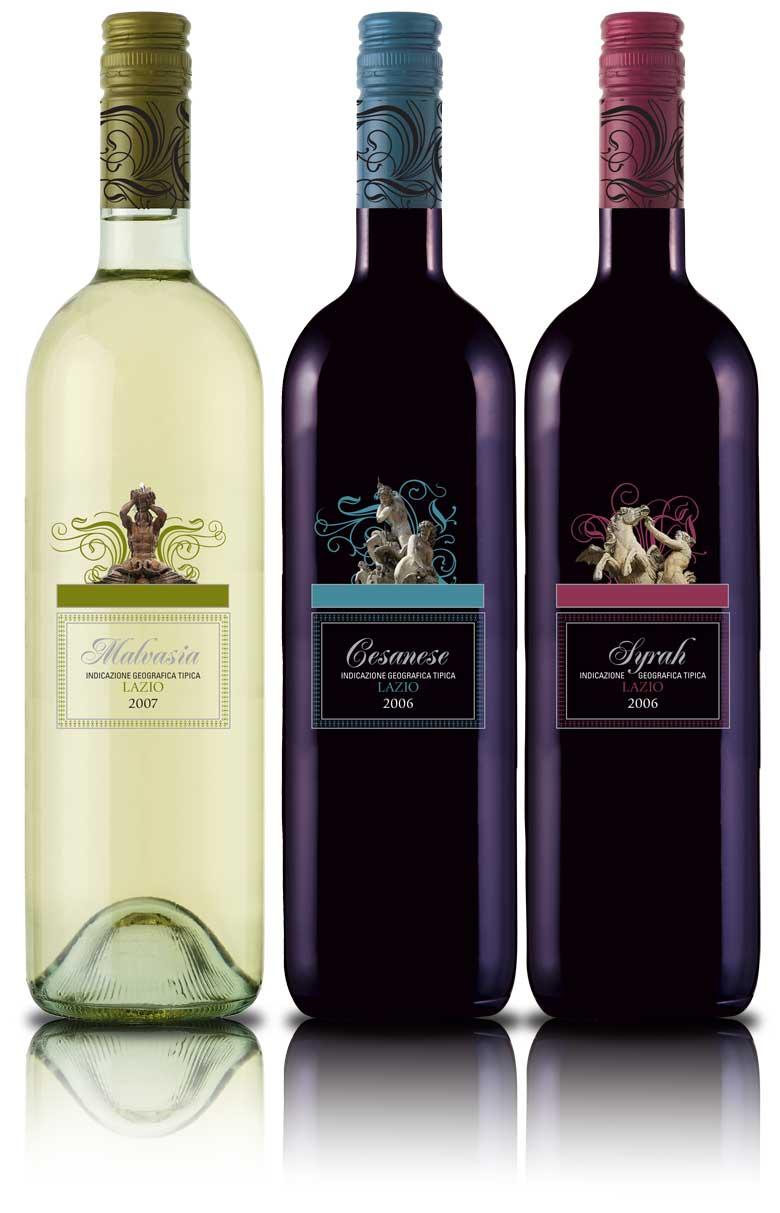 Lazio Wine Package Design