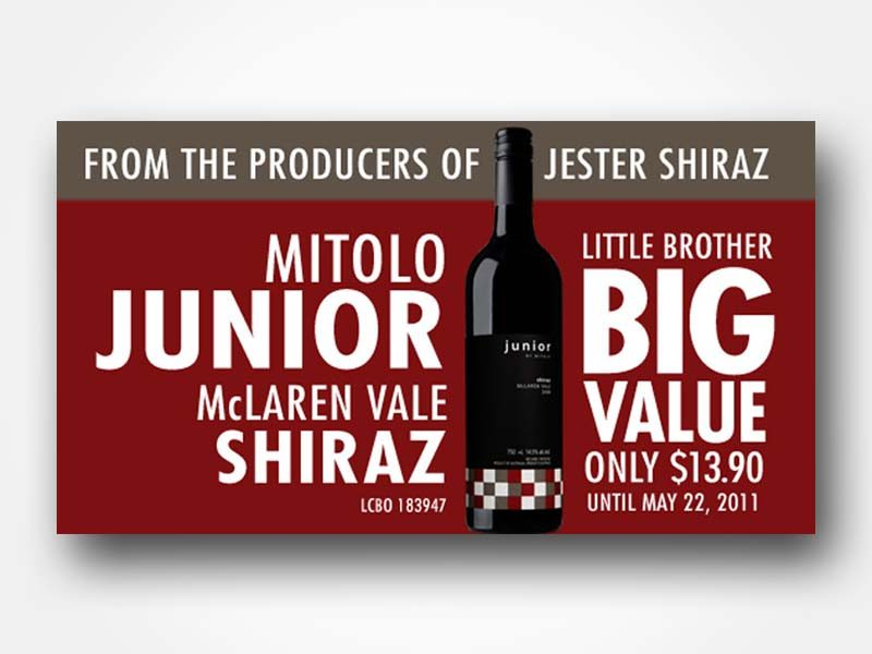 Mitolo Junior Wine Ad