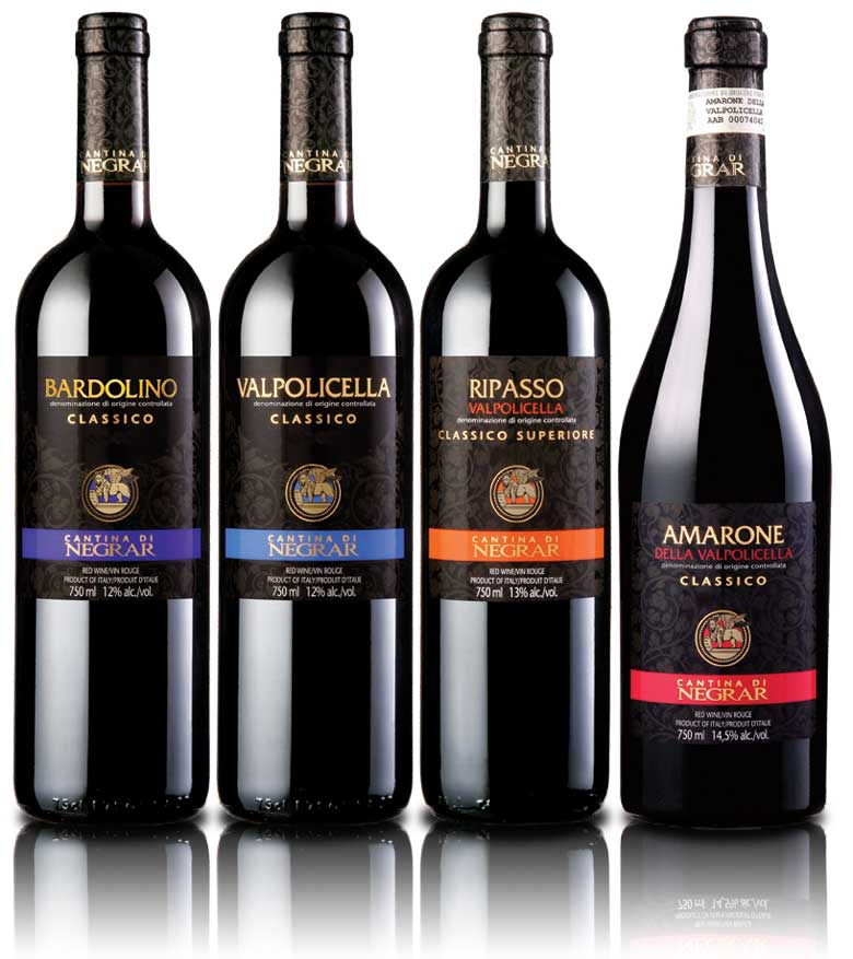 Negrar Classico Wine Packaging