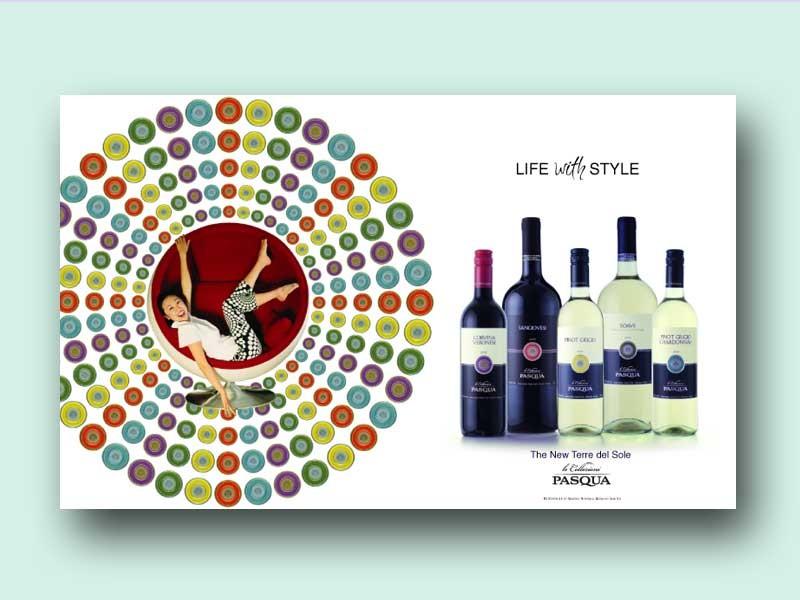 Pasqua Wine Ad