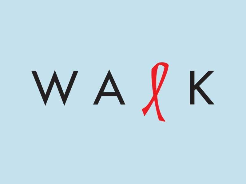 Santa Margherita AIDS Walk Campaign Logo
