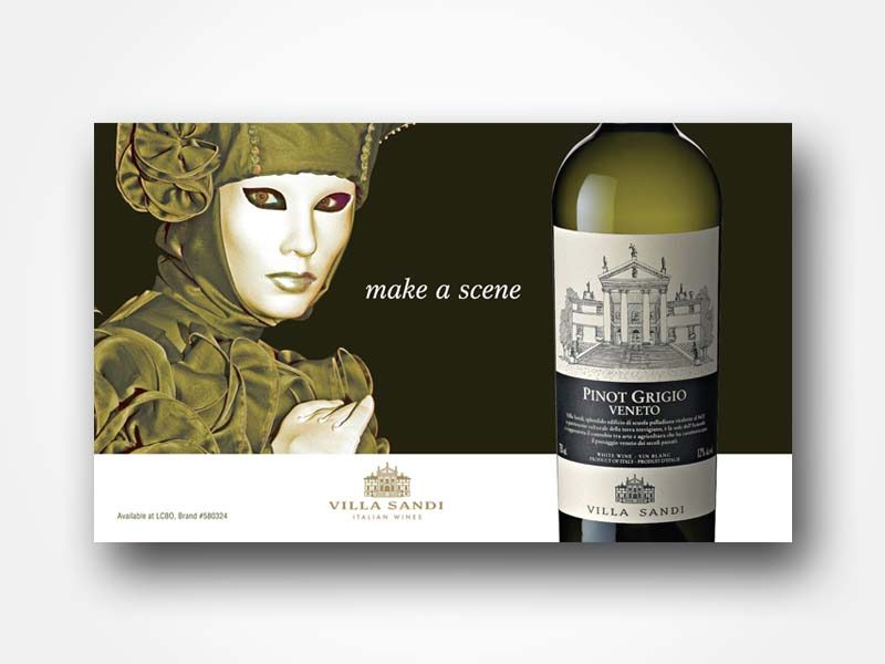 Villa Sandi Venetian Wine Ad