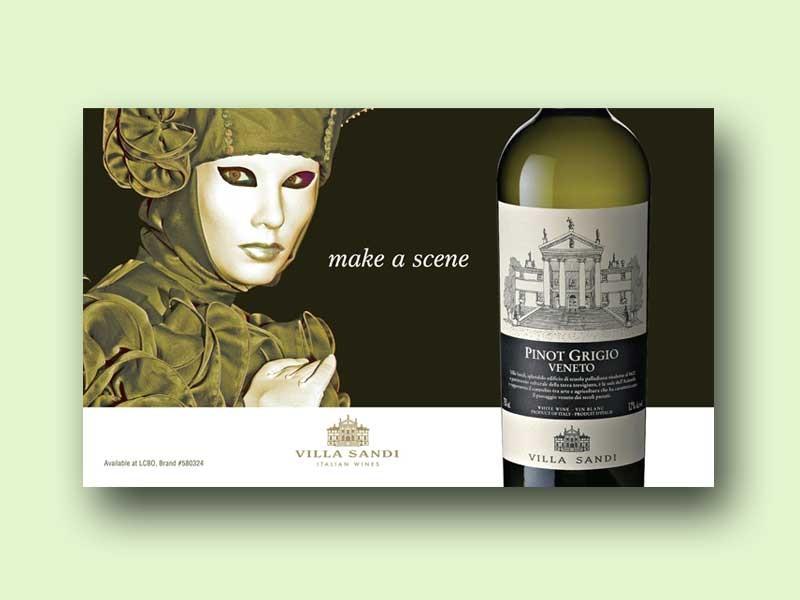 Villa Sandi Wine Ad