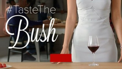 Taste the Bush wine advert