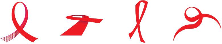 AIDS Ribbon Designs