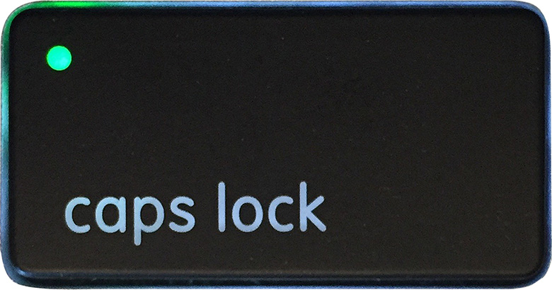 Caps Lock button image