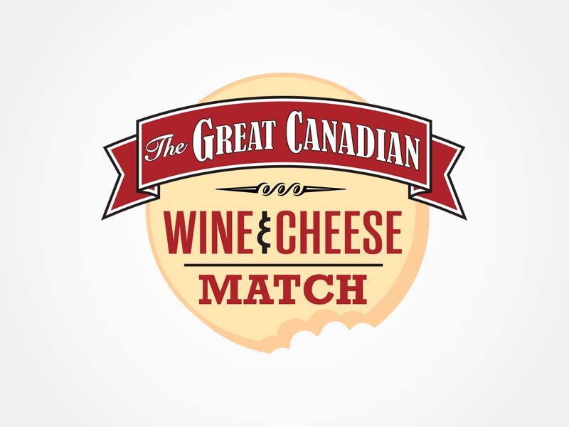 Great Canadian Wine & Cheeses Match logo