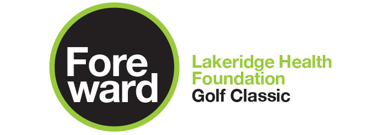 Foreward Golf Classic Logo for Lakeridge Health Foundation