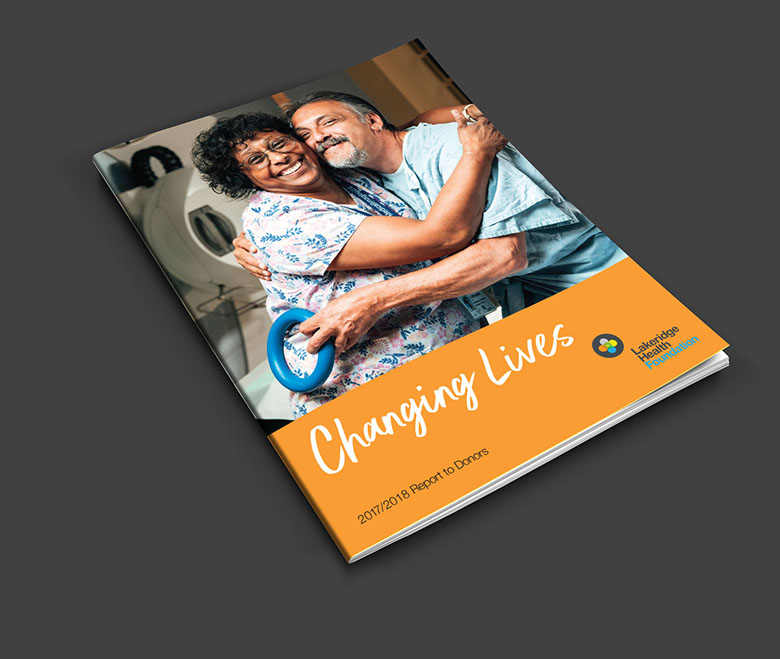 Hospital Foundation Annual Report cover