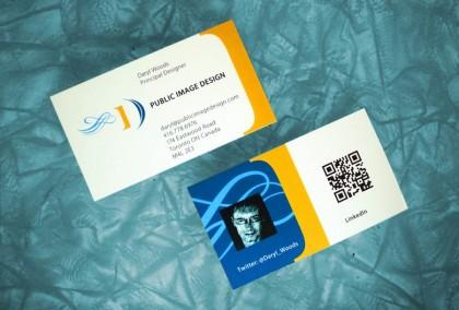 Public Image Design business cards