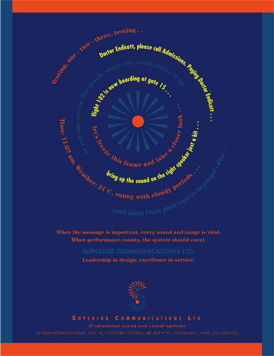 Superior Communications Brochure