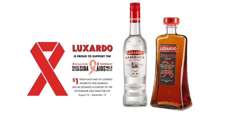 AIDS Walk Ad for Luxardo