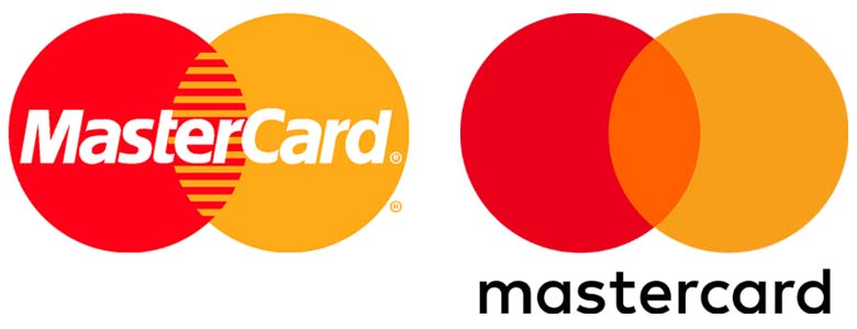 Mastercard logos rebrand